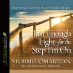Just Enough Light for the Step I'm On by  Stormie Omartian audiobook