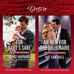 For Baby's Sake & An Heir for the Billionaire by  Kat Cantrell audiobook