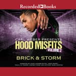 Hood Misfits Volume 2 by  Brick audiobook