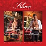 Cowboy Unwrapped & One Hot December by  Vicki Lewis Thompson audiobook