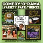 Comedy-O-Rama Variety Pack Thrice by  Joe Bevilacqua audiobook