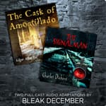 The Signalman and The Cask of Amontillado by  Bleak December audiobook