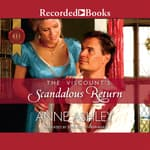 The Viscount's Scandalous Return by  Anne Ashley audiobook