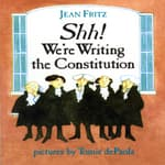 Shh! We're Writing The Constitution by  Jean Fritz audiobook