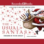 The Usual Santas by  Stephanie Barron audiobook