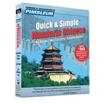 Pimsleur Chinese (Mandarin) Quick & Simple Course - Level 1 Lessons 1-8 by  Pimsleur  audiobook