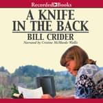 A Knife in the Back by  Bill Crider audiobook