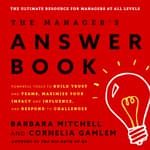 The Manager's Answer Book by  Barbara Mitchell audiobook