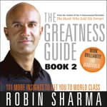 The Greatness Guide Book 2 by  Robin Sharma audiobook