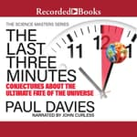 The Last Three Minutes by  Paul Davies audiobook