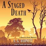 A Staged Death by  A.G. Barnett audiobook