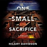 One Small Sacrifice by  Hilary Davidson audiobook