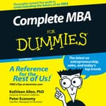 Complete MBA For Dummies by  Peter Economy audiobook