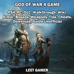 God of War 4 Game, PS4, PC, DLC, Walkthrough, Wiki, Armor, Bosses, Weapons, Tips, Cheats, Download, Guide Unofficial by  Leet Gamer audiobook