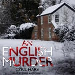 An English Murder by  Cyril Hare audiobook