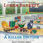 A Killer Edition by  Lorna Barrett audiobook