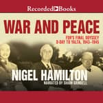 War and Peace by  Nigel Hamilton audiobook