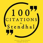 100 citations de Stendhal by  Stendhal audiobook