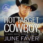 Hot Target Cowboy by  June Faver audiobook