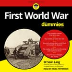 First World War For Dummies by  Sean Lang audiobook