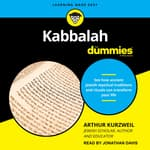 Kabbalah For Dummies by  Arthur Kurzweil audiobook