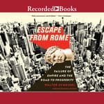 Escape from Rome by  Walter Scheidel audiobook