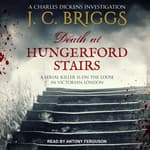 Death at Hungerford Stairs by  J.C. Briggs audiobook