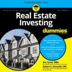 Real Estate Investing for Dummies by  Eric Tyson, MBA audiobook