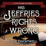 Mrs. Jeffries Rights a Wrong by  Emily Brightwell audiobook