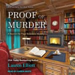 Proof of Murder by  Lauren Elliott audiobook