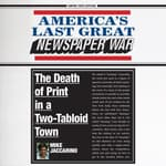 America's Last Great Newspaper War by  Mike Jaccarino audiobook