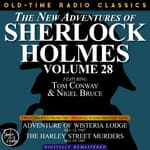 Adventures of Wisteria Lodge and The Harley Street Lodge by  Anthony Boucher audiobook
