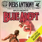 Blue Adept by  Piers Anthony audiobook