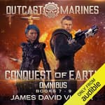 Conquest of Earth Omnibus by  James David Victor audiobook
