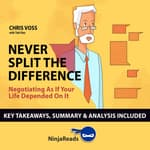 Summary: Never Split the Difference by  Ninja Reads audiobook