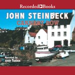 Cannery Row by  John Steinbeck audiobook