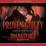 Proven Guilty by  Jim Butcher audiobook