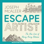 Escape Artist by  Joseph McAleer audiobook