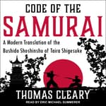 Code of the Samurai by  Thomas Cleary audiobook