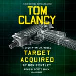 Tom Clancy Target Acquired by  Don Bentley audiobook