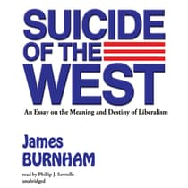 Suicide of the West by James Burnham audiobook