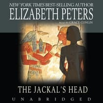 The Jackal's Head by Elizabeth Peters audiobook