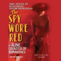 The Spy Wore Red by Aline audiobook