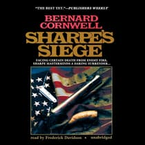 Sharpe's Siege by Bernard Cornwell audiobook