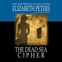 The Dead Sea Cipher by Elizabeth Peters audiobook