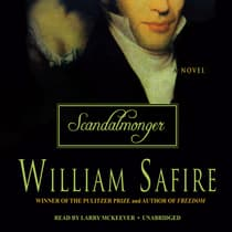 Scandalmonger by William Safire audiobook