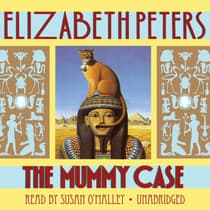 The Mummy Case by Elizabeth Peters audiobook