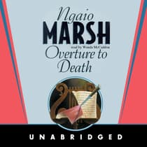 Overture to Death by Ngaio Marsh audiobook