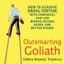Outsmarting Goliath by Debra Koontz Traverso audiobook