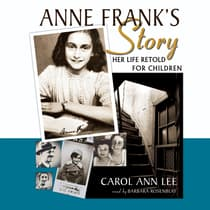 Anne Frank's Story by Carol Ann Lee audiobook